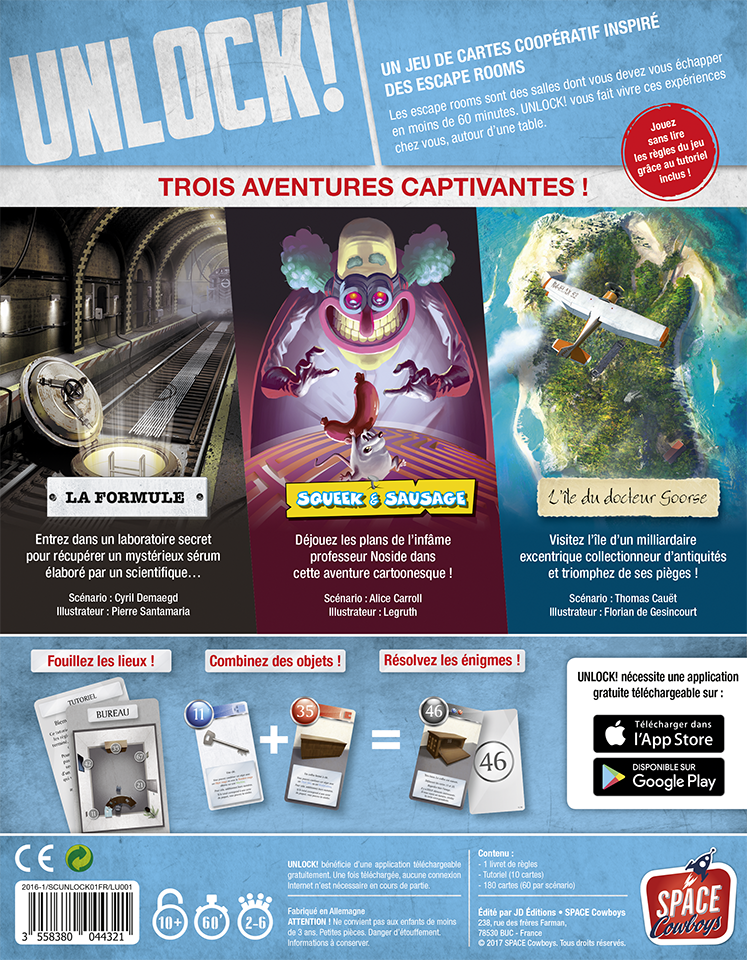 Unlock ! Escape Adventures