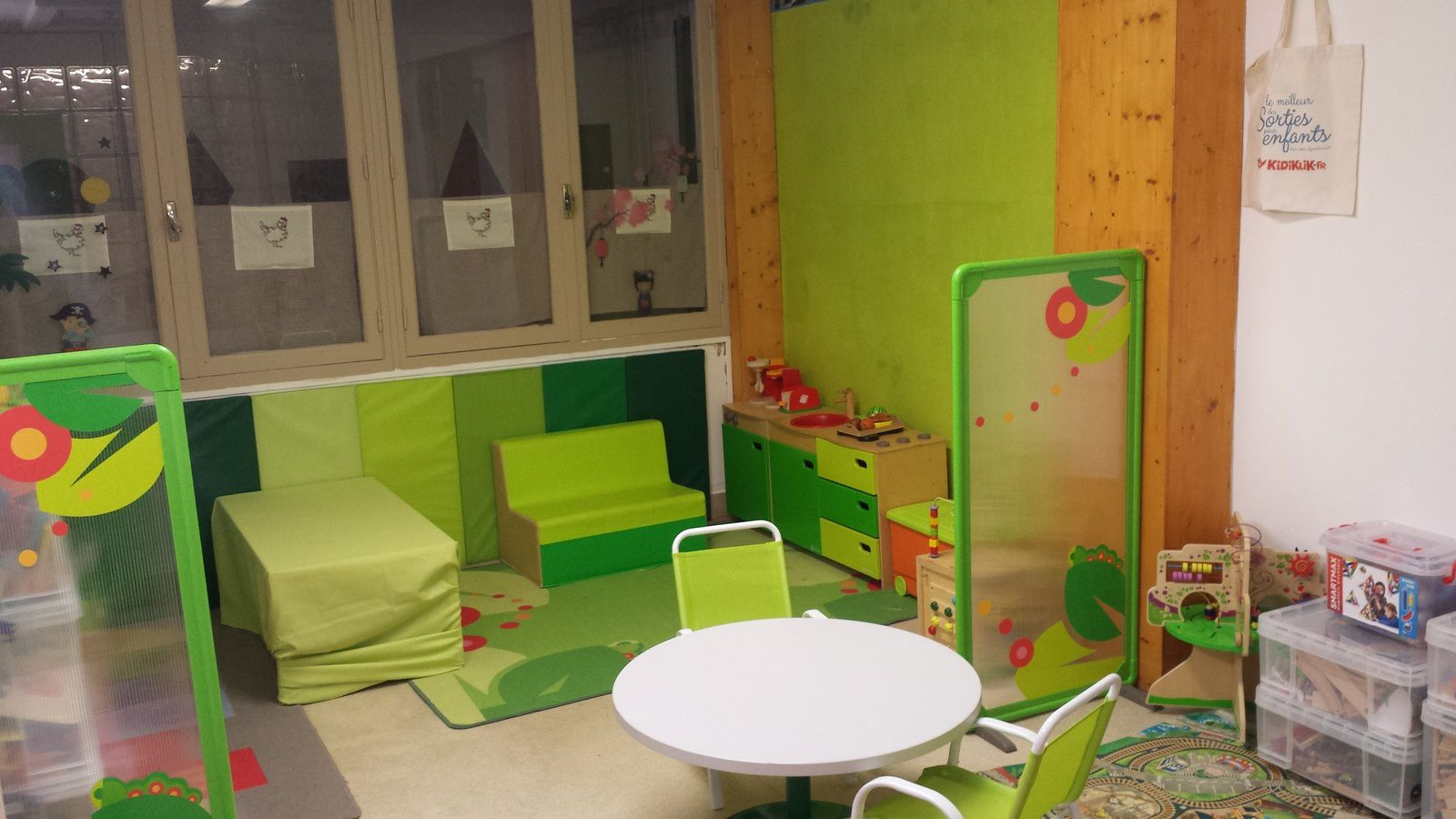 Tout nouveau, tout beau, voici notre chaleureux espace petite enfance !