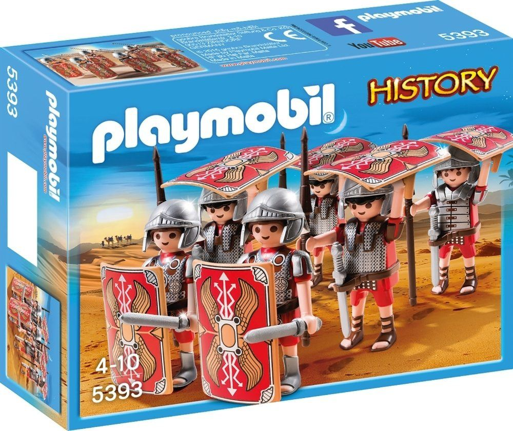 Playmobil History : Bataillon romain