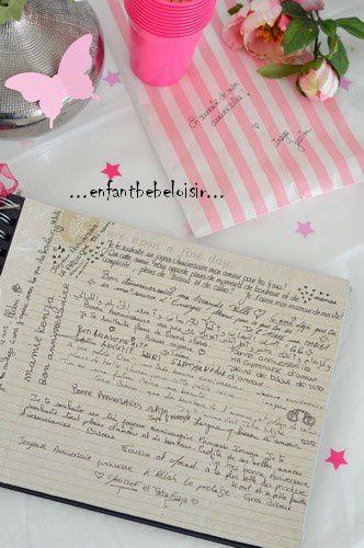 Livret d'anniversaire Inaya 1 2 3 et 4 ans ! rempli de photos , de lettres, de souvenirs et de petits mots !!