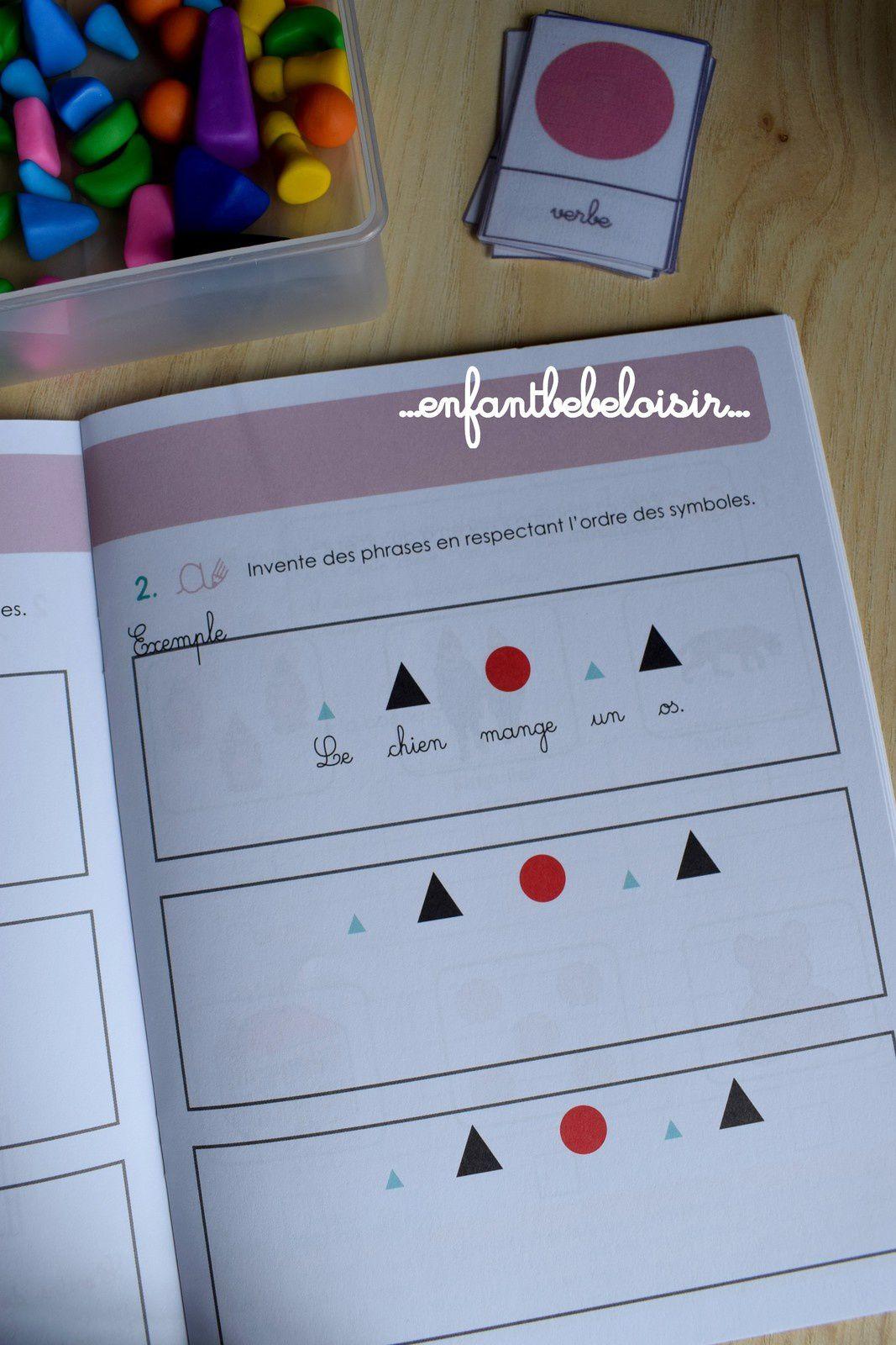 Grammaire Montessori - Le verbe - Leçon #1