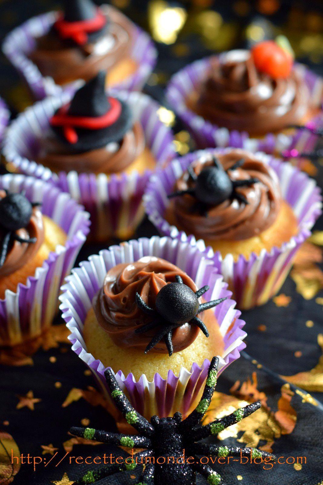Cupcake d'Halloween !