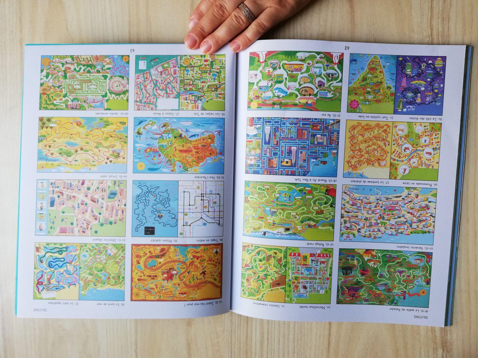 Le grand livre des labyrinthes- Tour du monde- Usborne