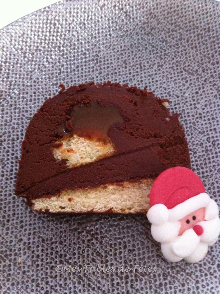 Desserts de fête suite, la buche chocolat 2016