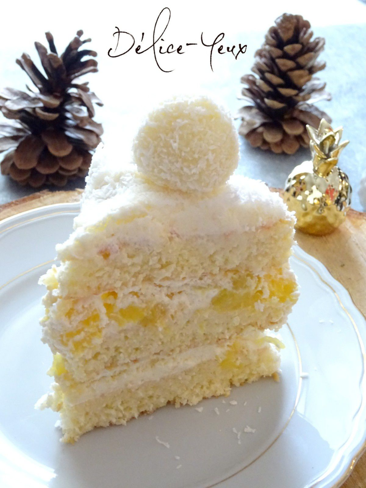 Layer Cake Ananas & Coco
