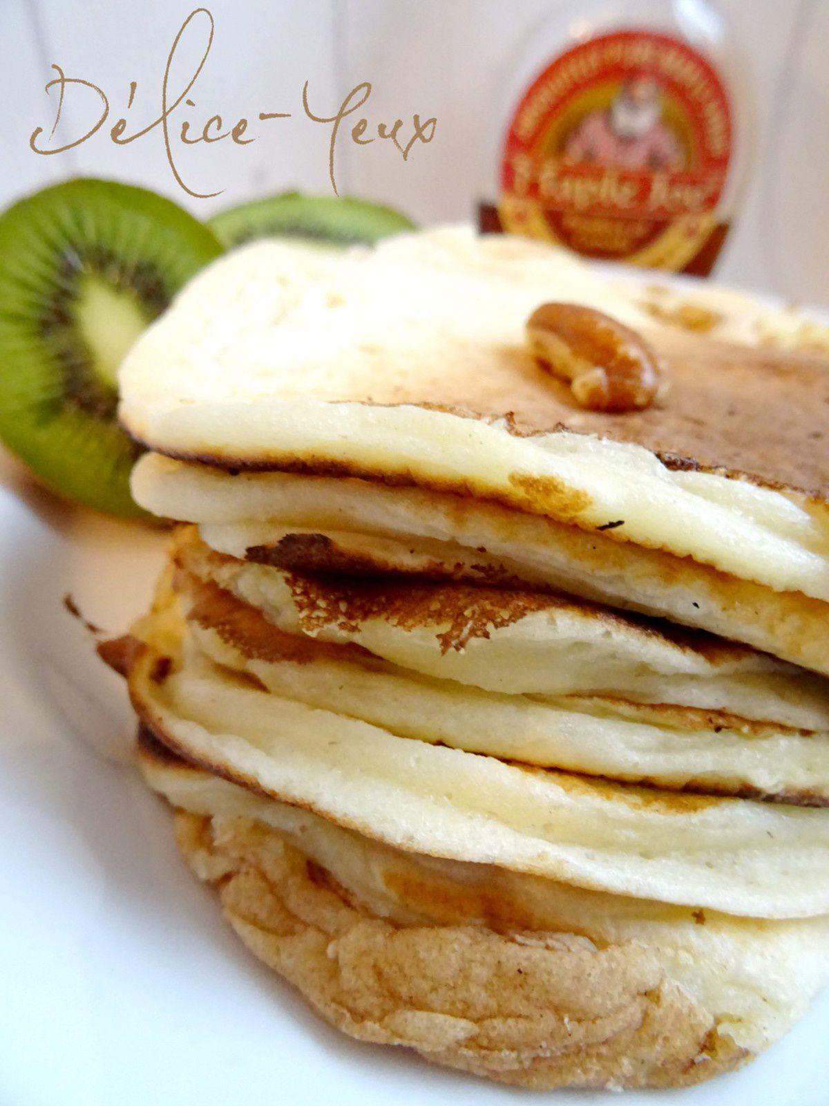 Pancakes allégés et rapides