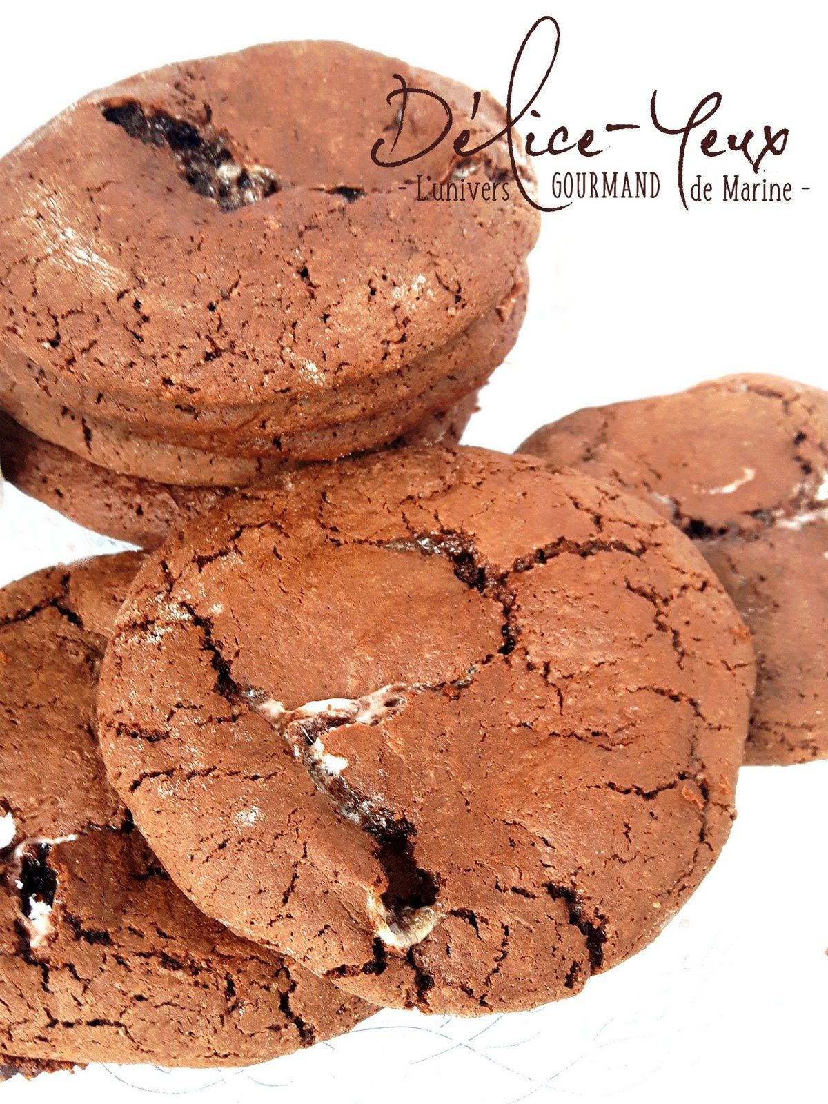 Cookies moelleux Chocolat & Chamallows