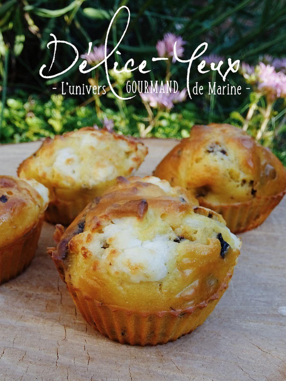 Muffins Pruneaux & Chèvre frais