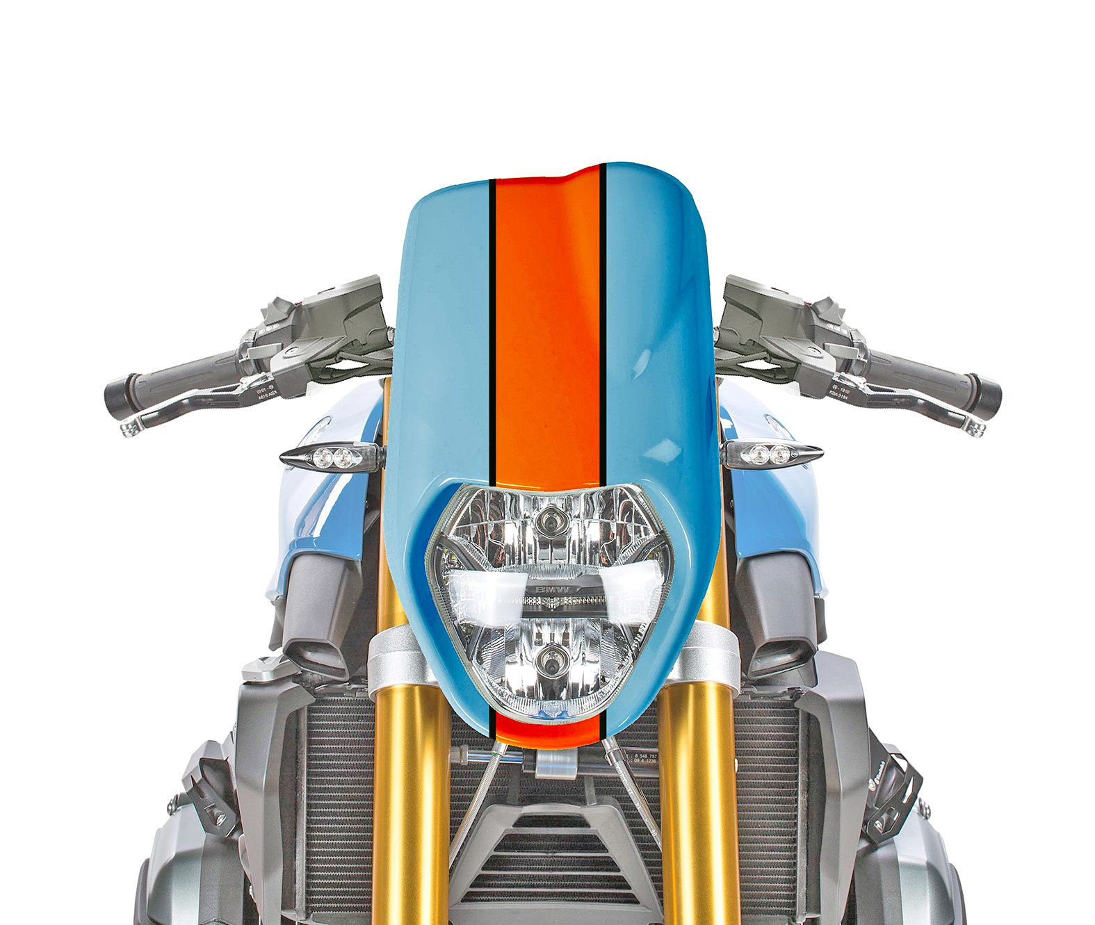 R1200R LC Mirage Fairing and Gulf Livery