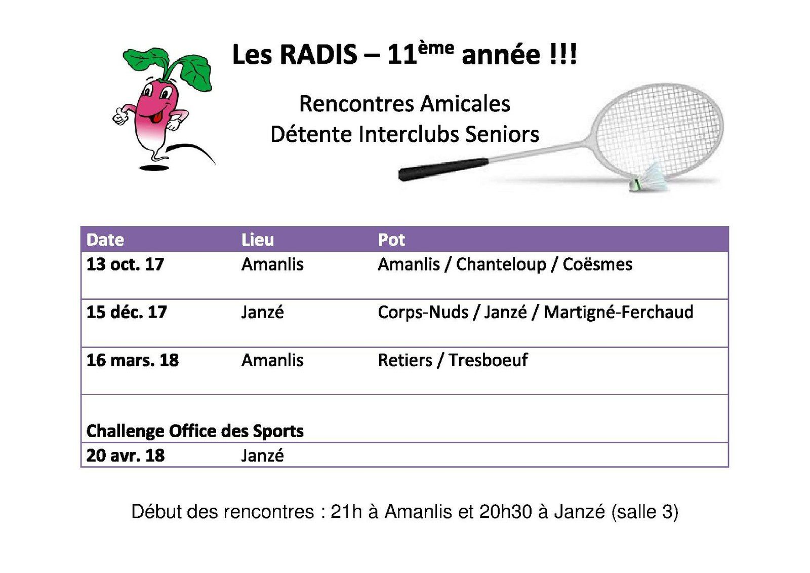 rencontres amicales 47 Bourges