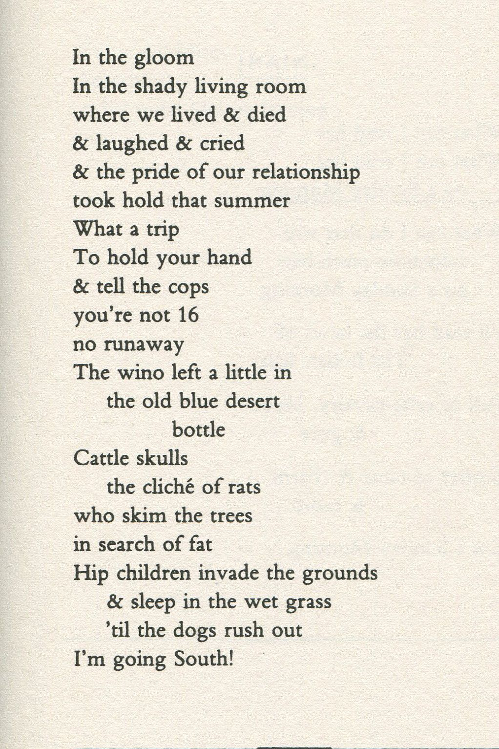 C'est jeudi, c'est poésie sous la pluie.