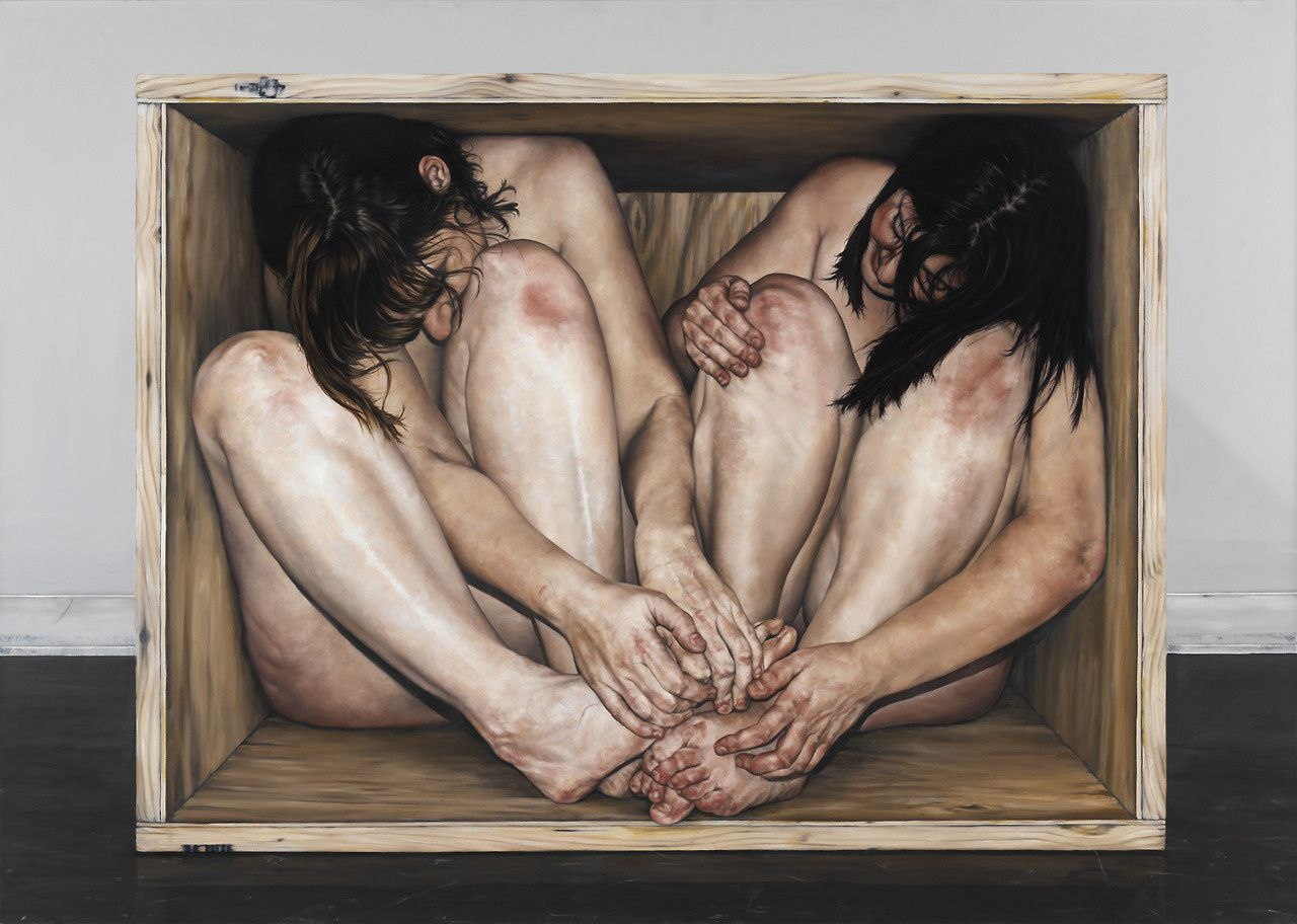 Untitled Box Serie 1, 3 et 4. 2010 © Chelsey Taylor Wood.
