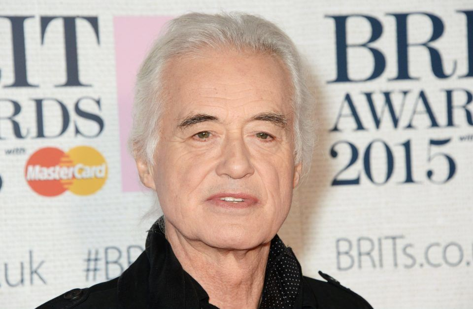 Jimmy Page in Rage