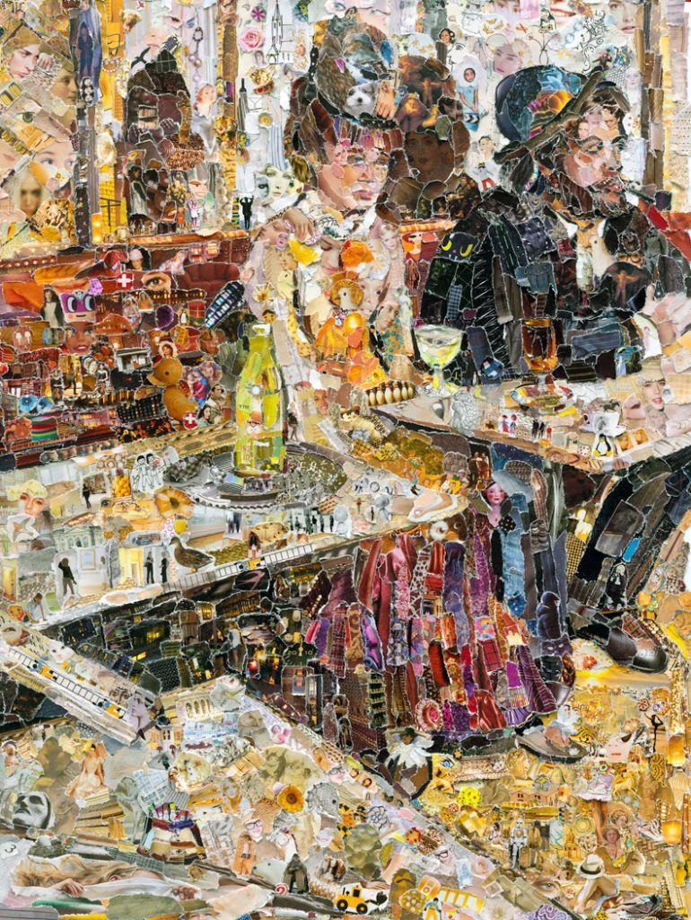 Une buveuse d'absinthe par Edgar Degas itou