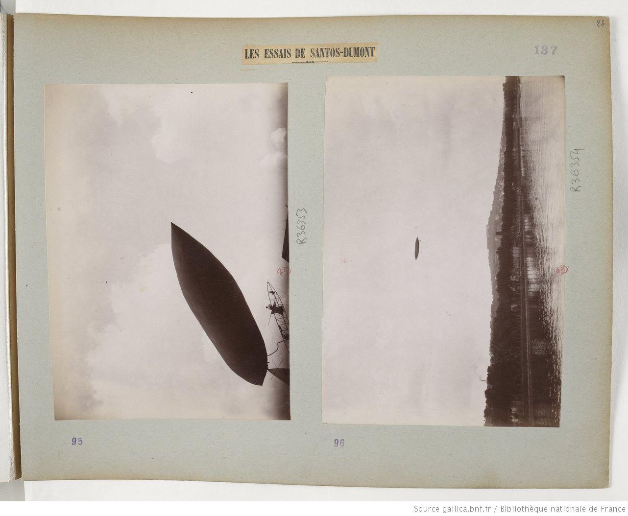 Le jour où Santos-Dumont tomba au parc Rothschild
