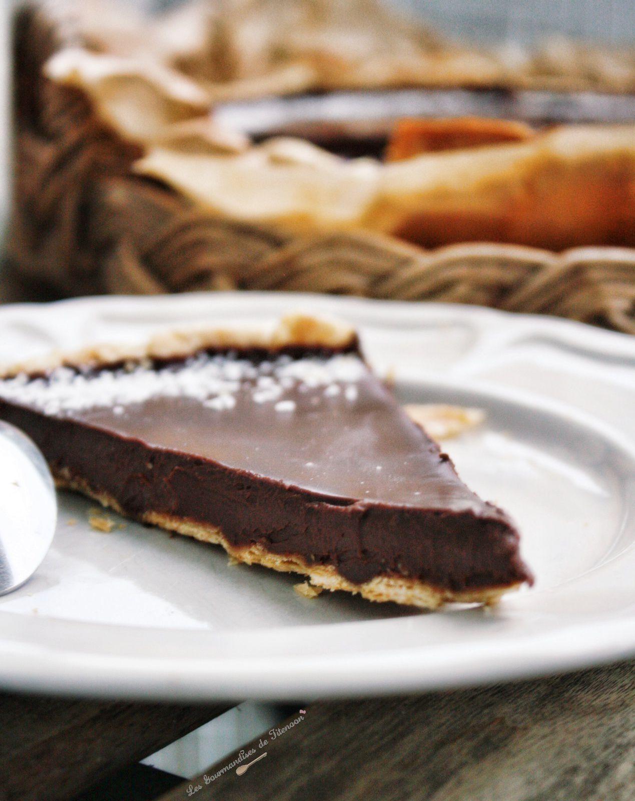 Tarte au Chocolat Express (et Simplissime)
