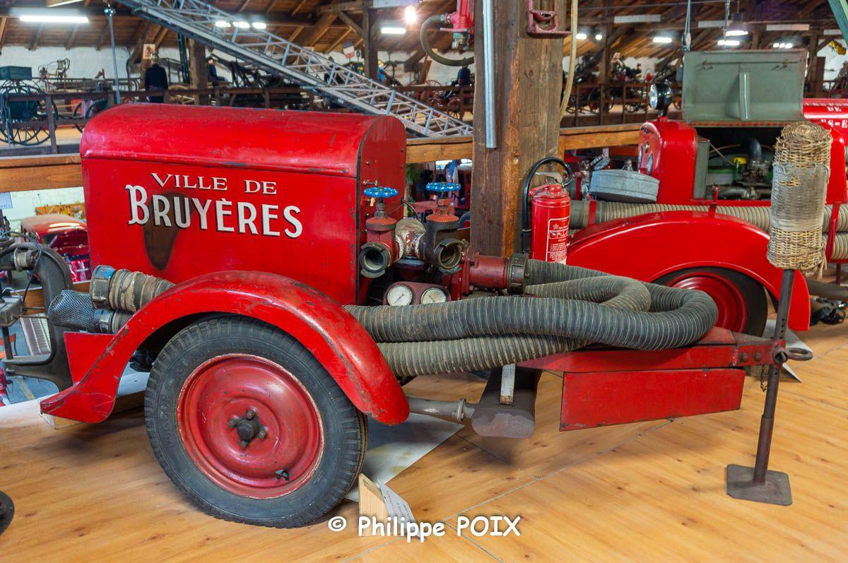 BRUYÈRES et les communes voisines représentées au Musée des Sapeurs-Pompiers d'ÉPINAL