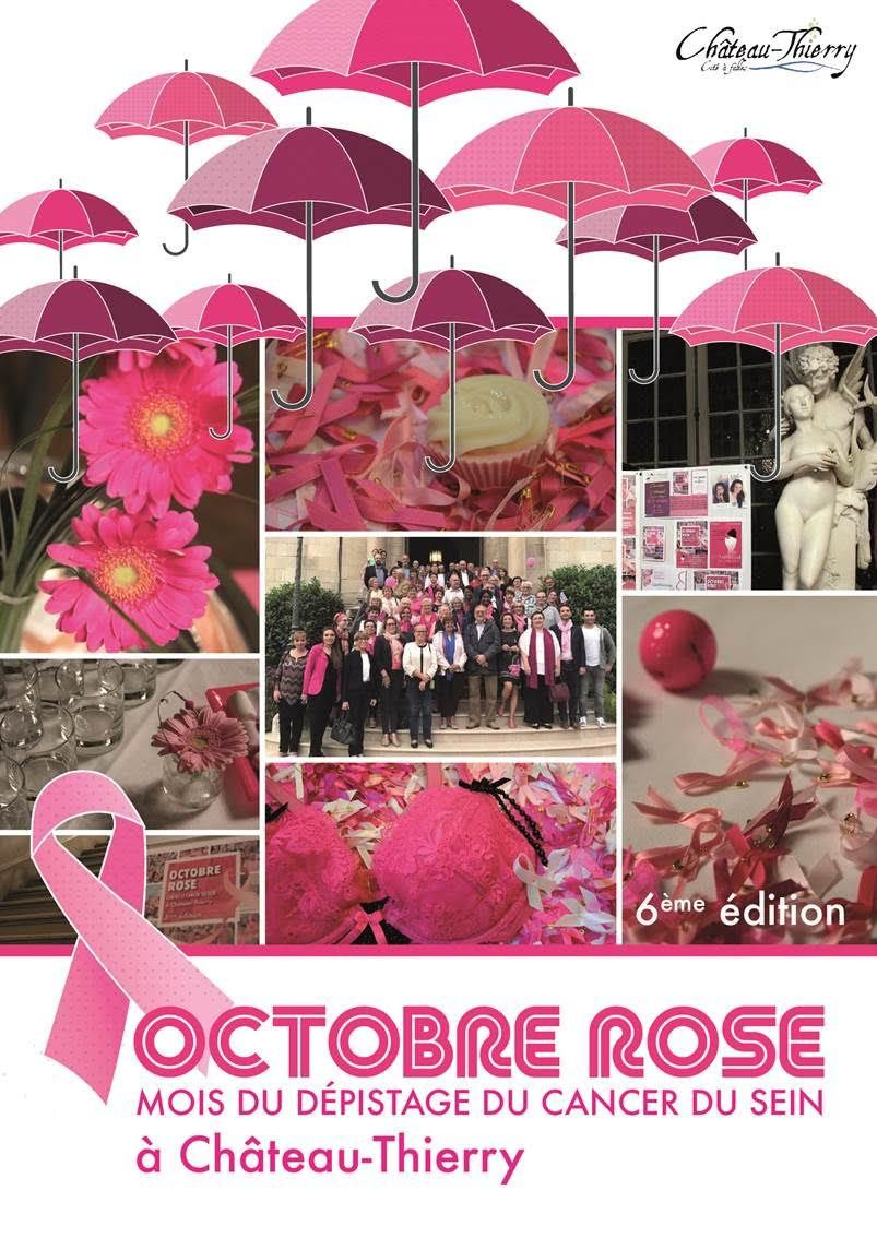 Animations Octobre Rose Château-Thierry