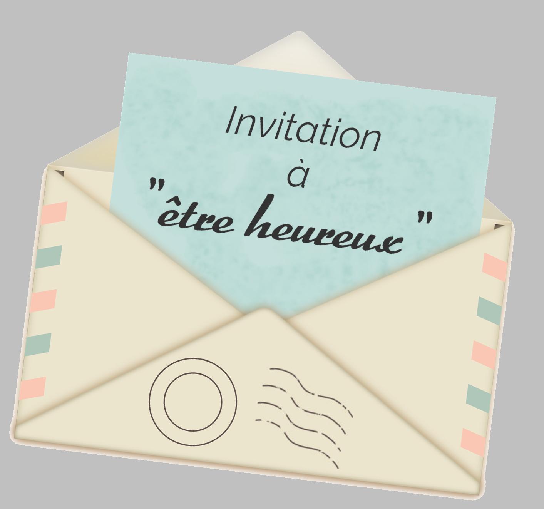 Invitation à être heureux.se