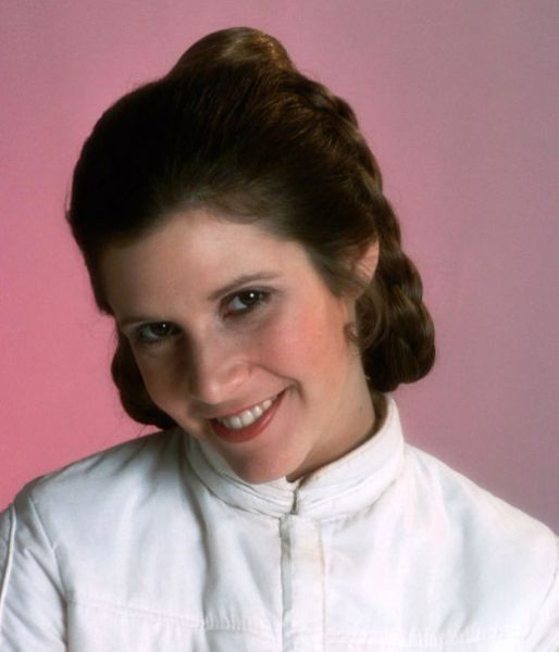 Princesse leia ou Carrie Fisher