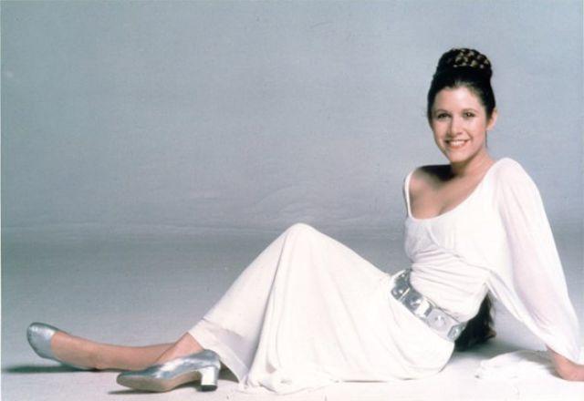 Princesse leia ou Carrie Fisher