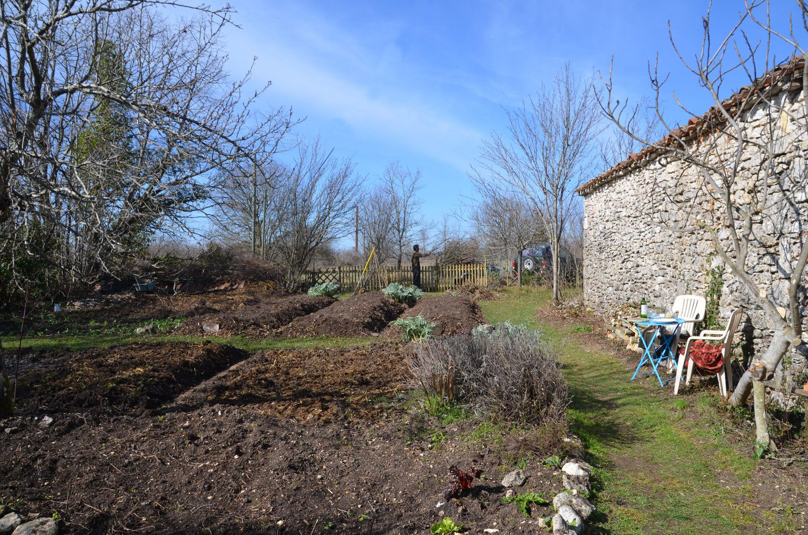 Domaine Les Cyprès - reportage jardinage !