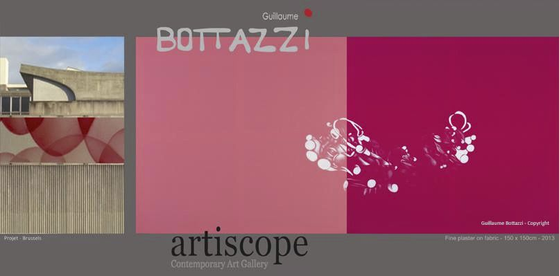 Guillaume Bottazzi solo show at Artiscope Gallery