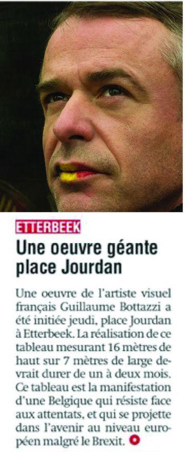 Guillaume Bottazzi / Journal La Libre Be