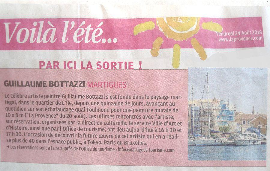 Bottazzi art public Cote d'Azur culture