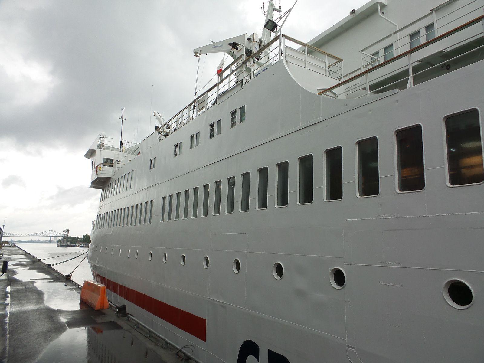 Voici le bateau ainsi que ma cabine