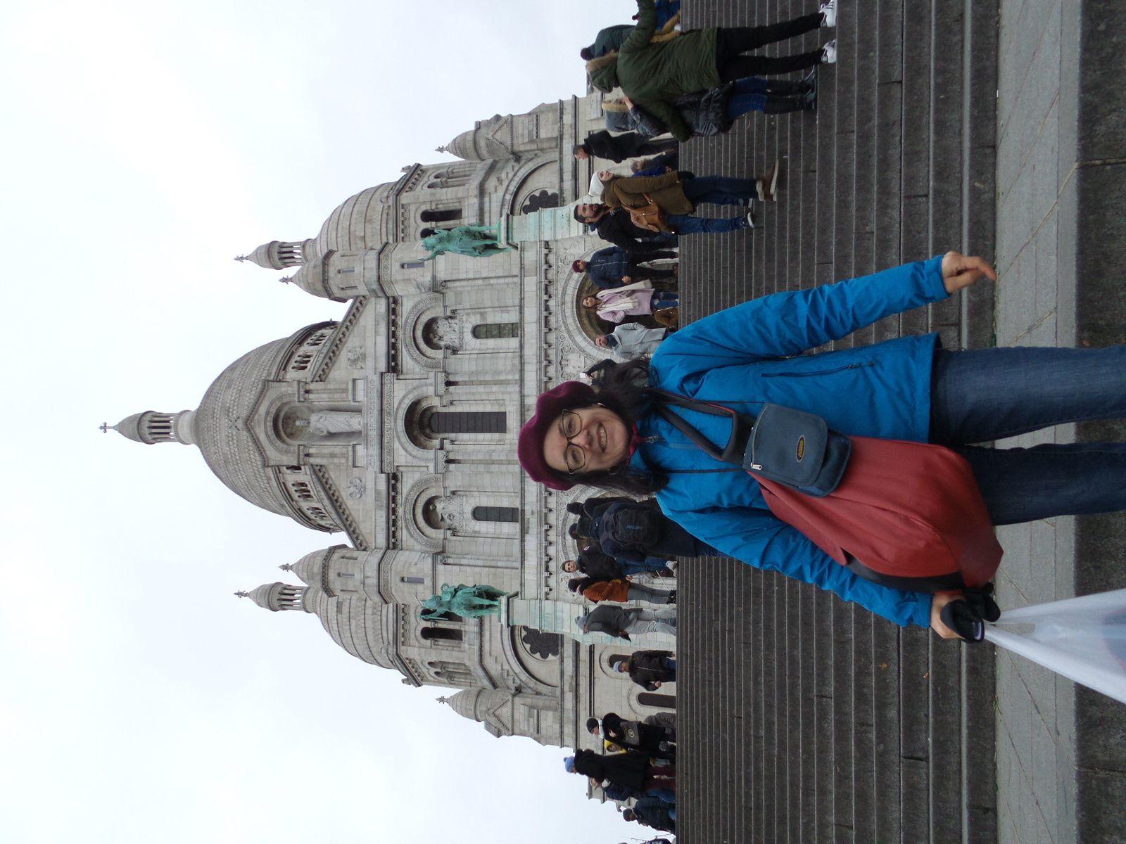 Montmartre, toujours très touristique mais quel charme!