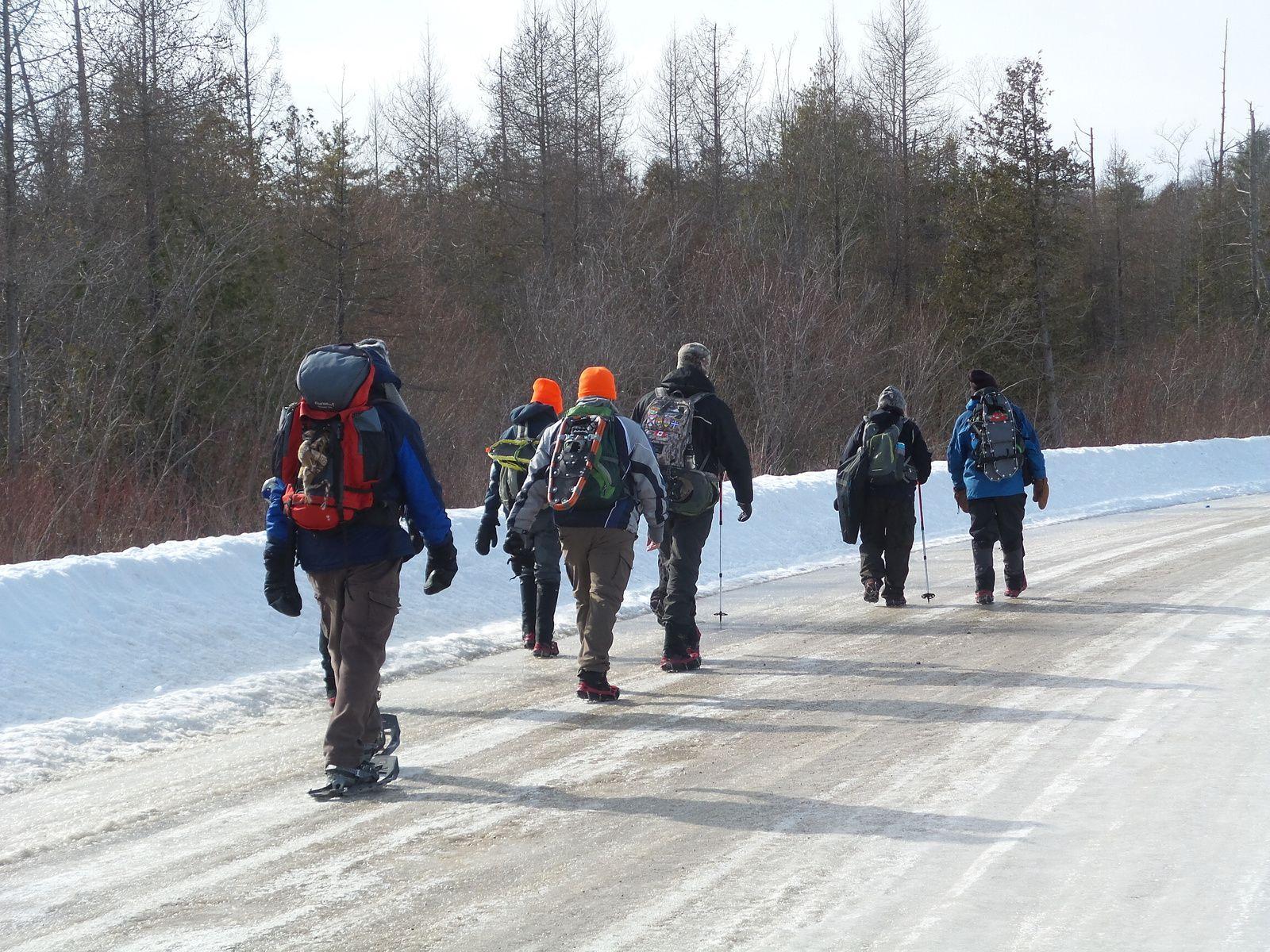 Section du Rideau Trail Kingston - Bedford Mills complétée!