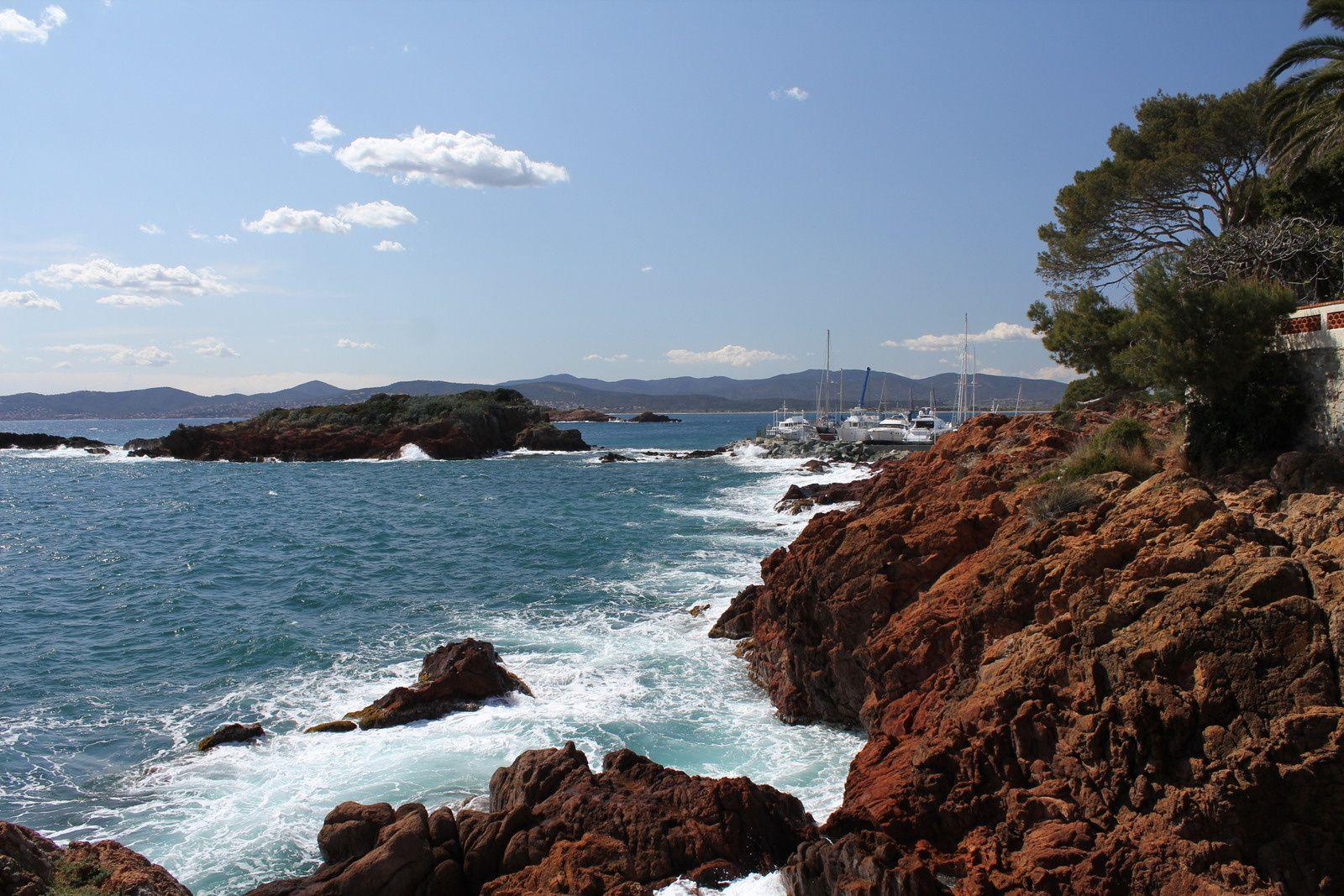 Une journée au bord de la Méditerranée à St-Raphaël