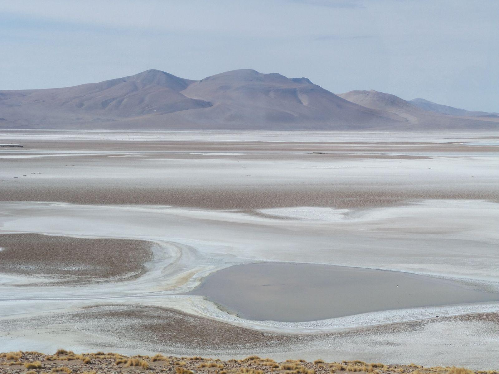En route entre le Chili et l'Argentine à partir de la route 27