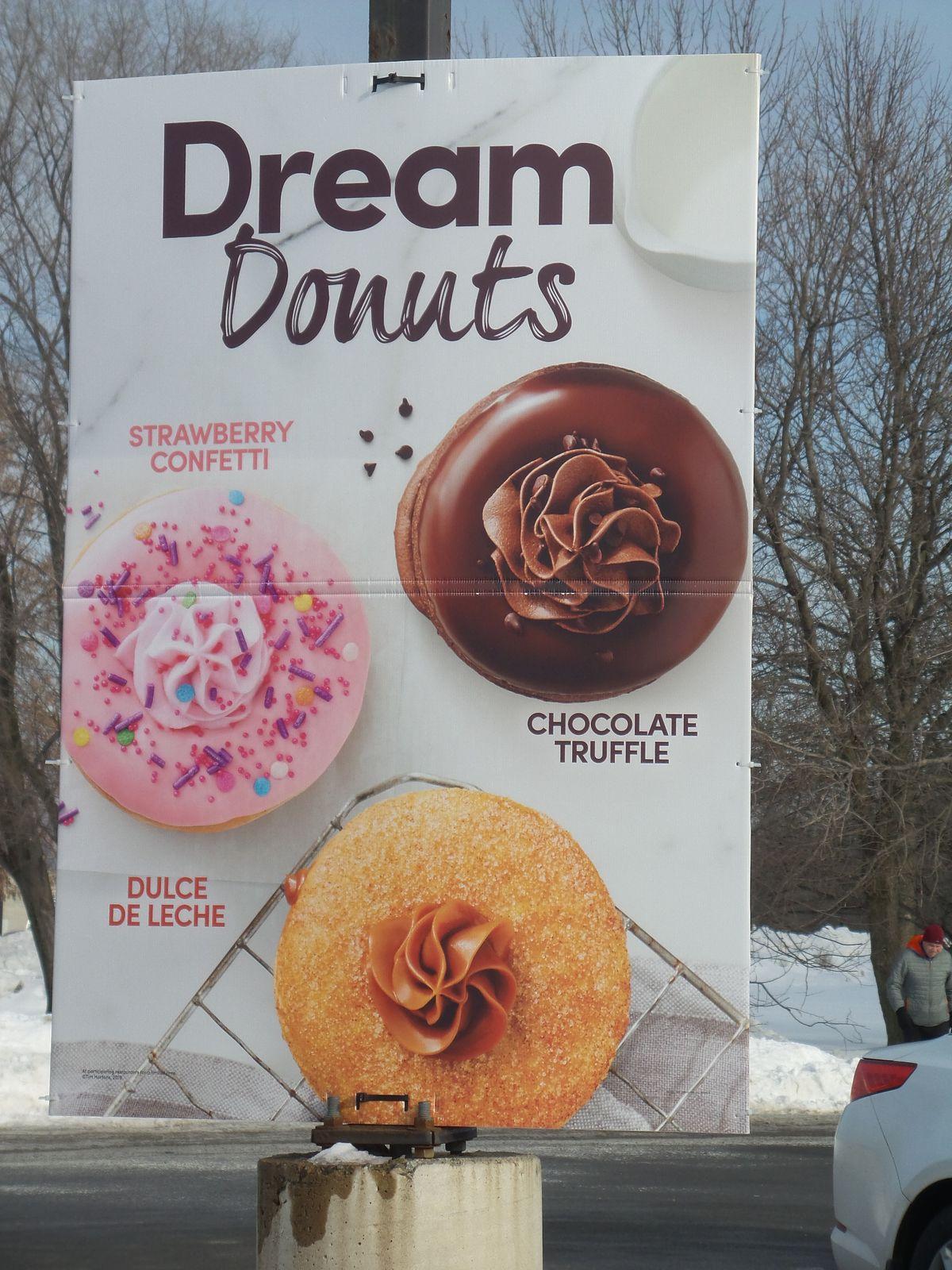 Je crois que vous pouvez deviner quel est mon dream donught préféré
