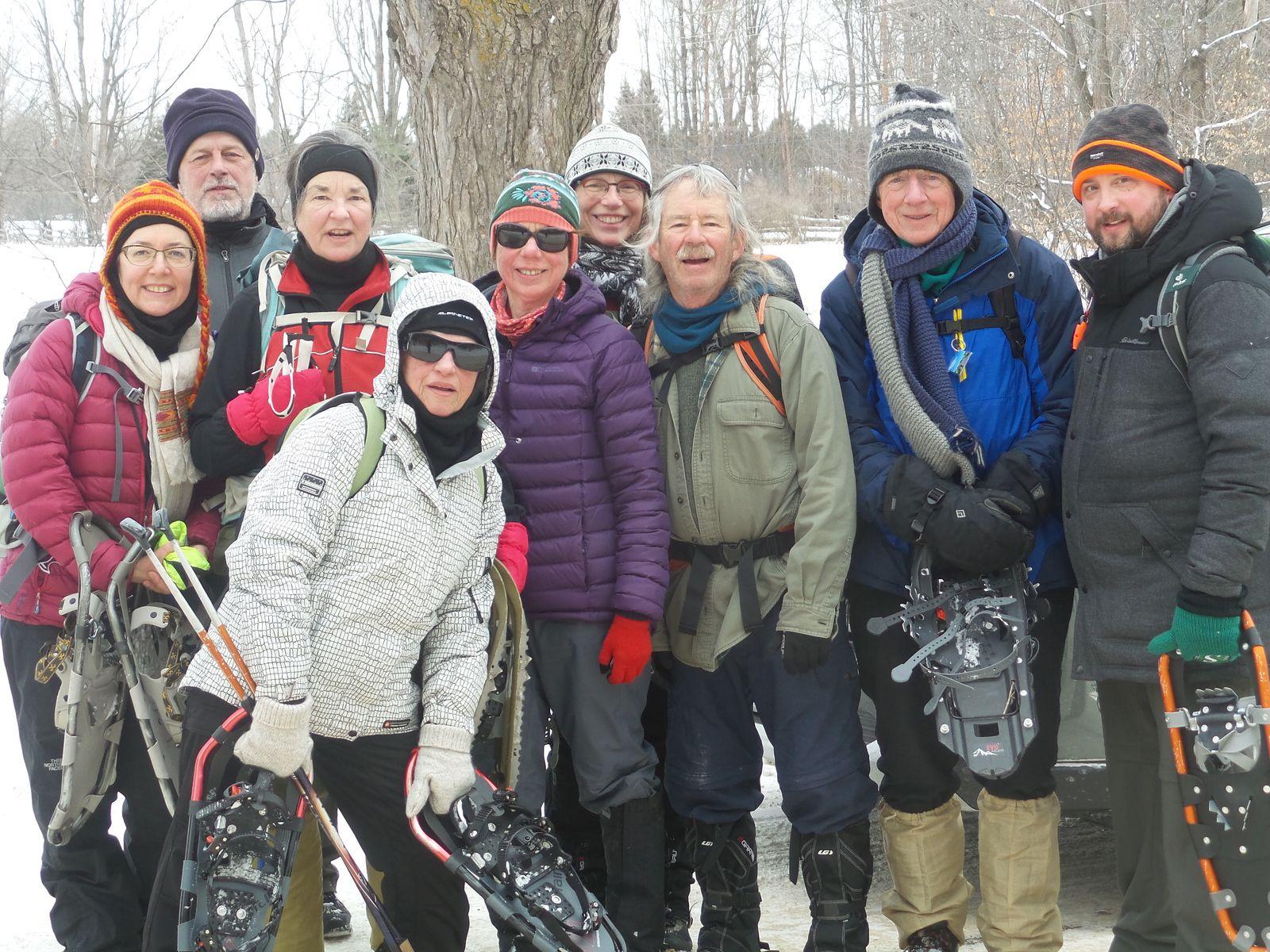 Bravo aux 9 braves du Winter E2E Core Group!