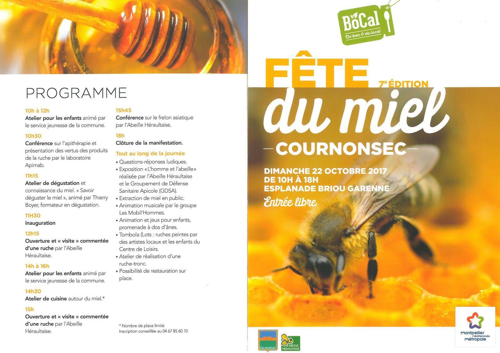 Fete du Miel à Cournonsec