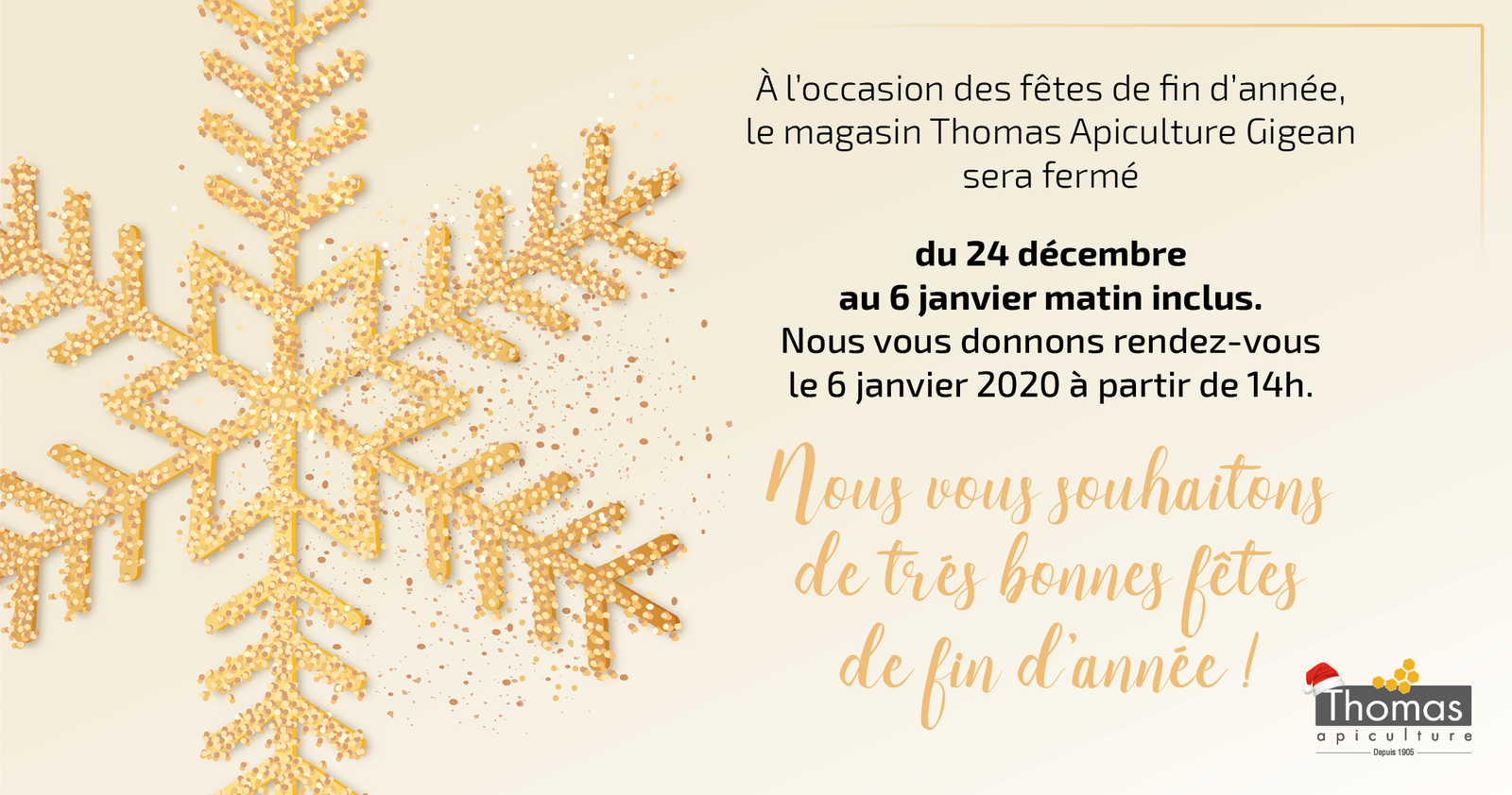 Communication THOMAS Apiculture Gigean
