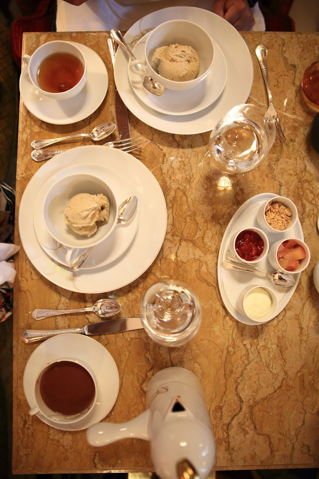 Le tea time au Ritz