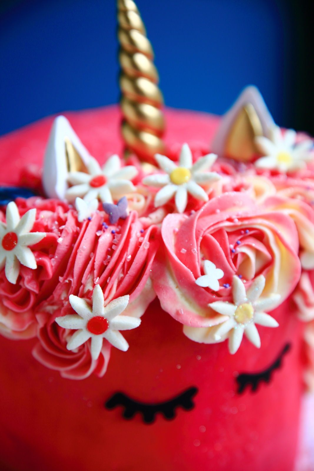 Unicorn cake, le gâteau licorne qu'elle a dit...