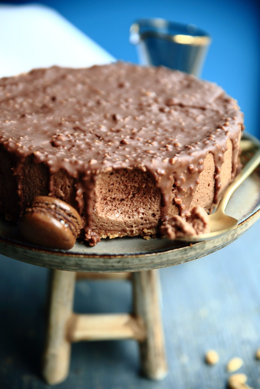 Le Snickers * entremet *