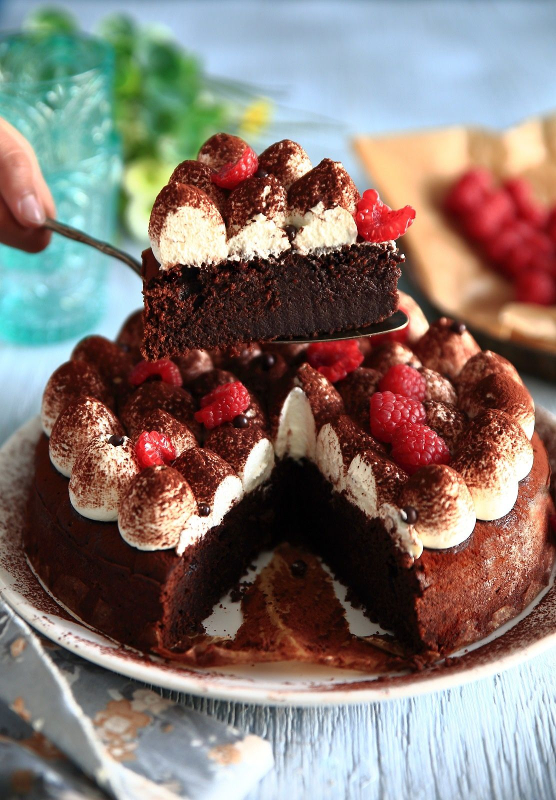 Le Tiramicake - Fudge cake et chantilly mascarpone