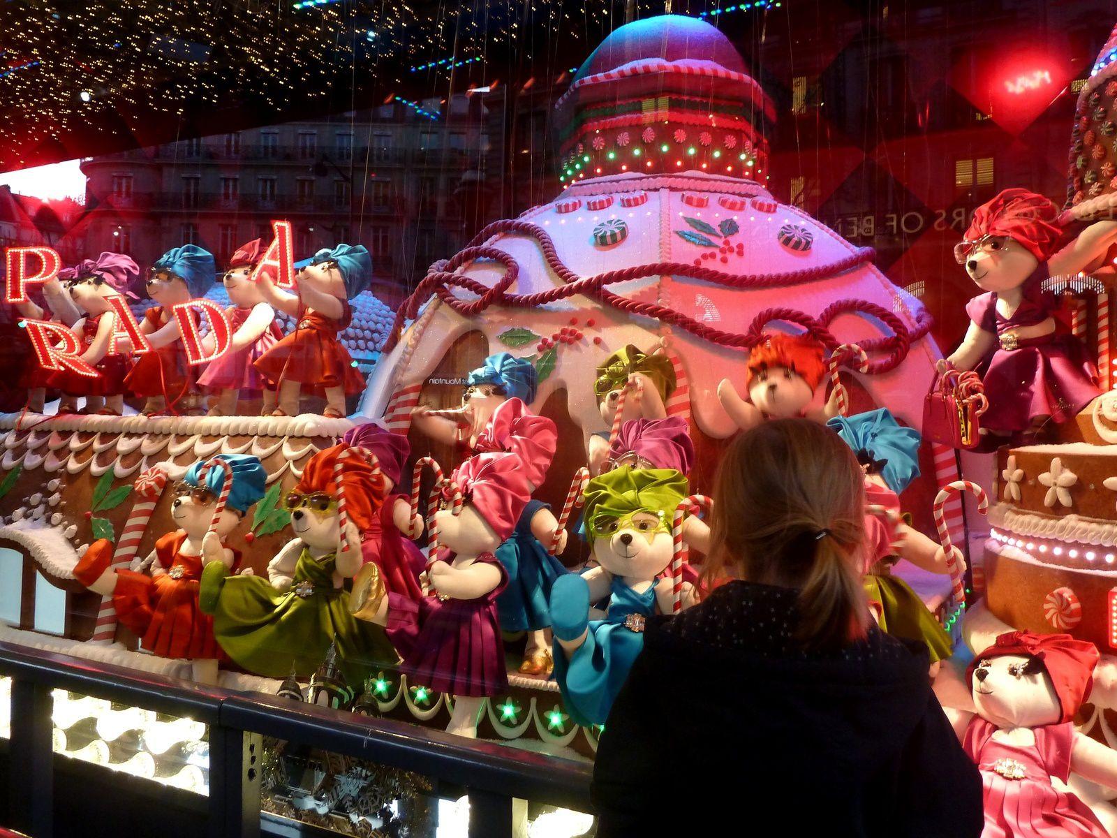Photo Martine Martin : grands magasins Paris. Cliquez pour voir la photo en grand format