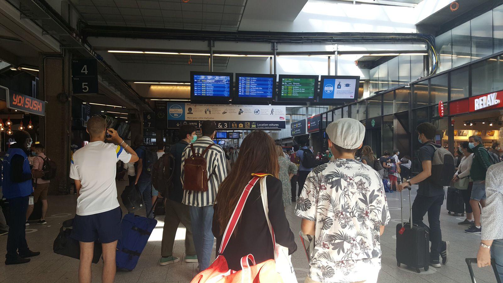 Paris Gare Montparnasse / Juin 2020 (cliquez sur la photo pour la voir en grand)