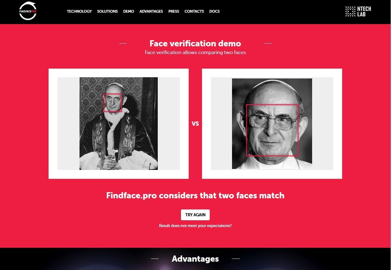 Deux photographies du sosie, avec et sans les lunettes