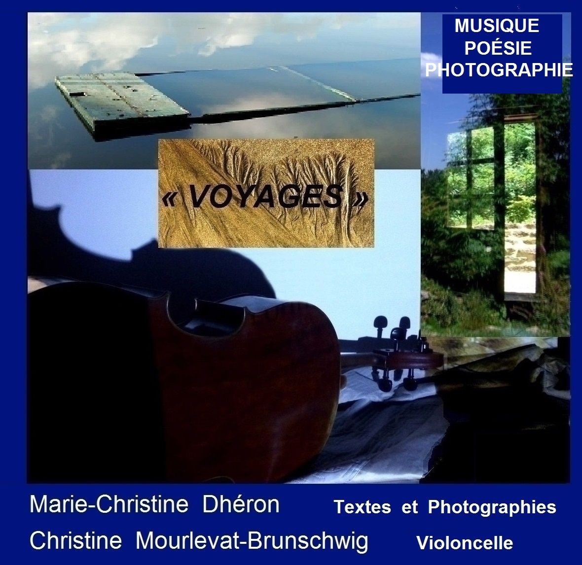 Spectacles, Marie-Christine Dhéron, textes / Christine Mourlevat-Brunschwig, violoncelle
