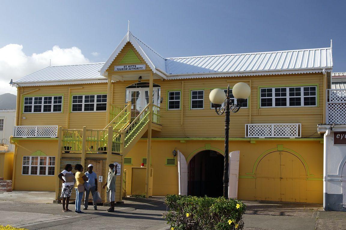 Edifice à Basseterre (Saint Christophe)
