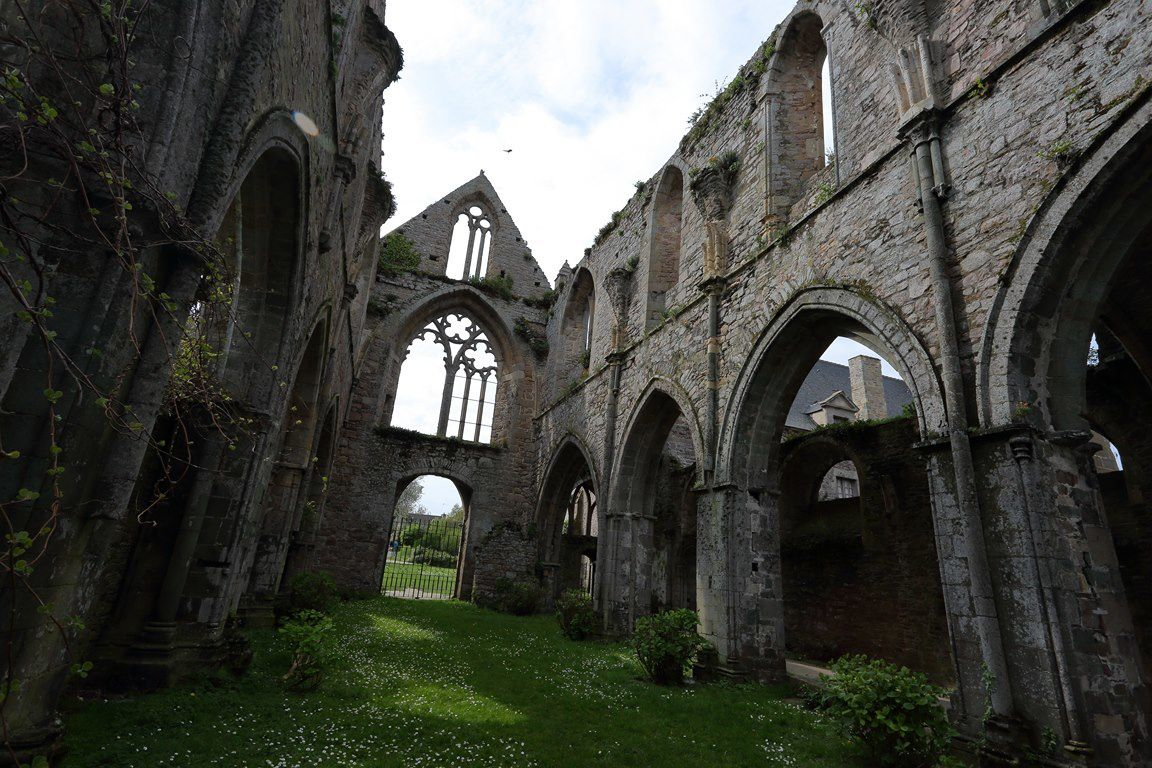 Abbaye de Beauport (Côtes d'Armor).