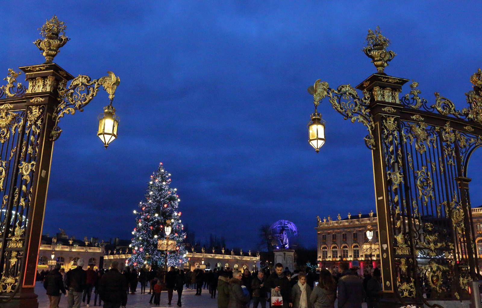 Noël à Nancy  (place Stanislas)
