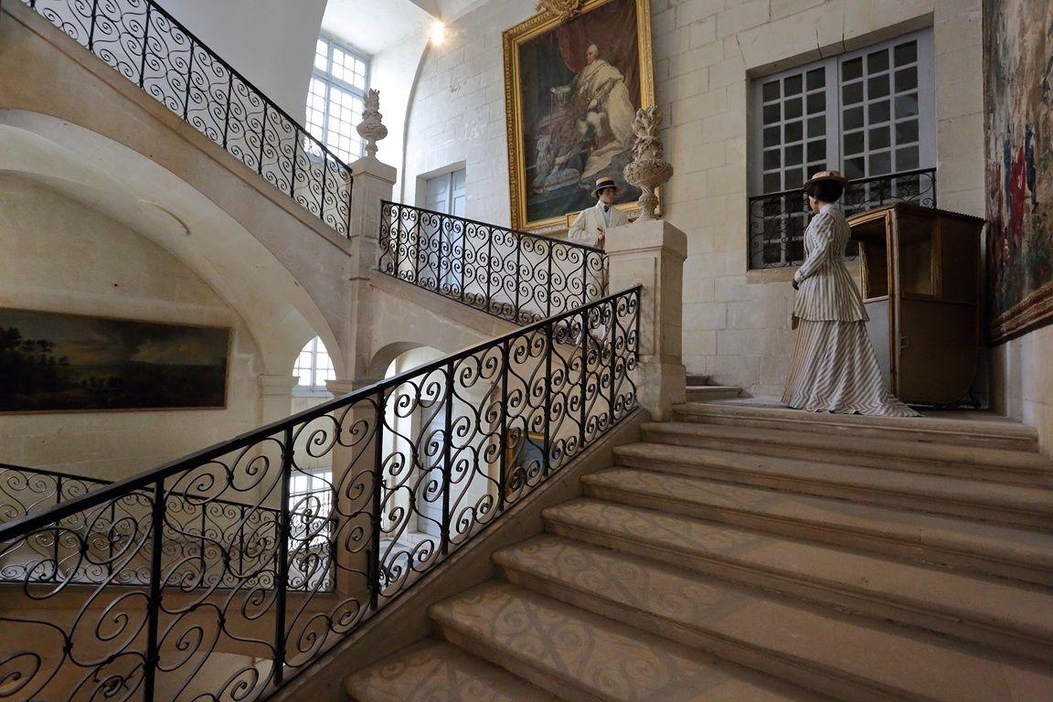 Le château de la belle au bois dormant... ( Château d'Ussé en Indre et Loire)